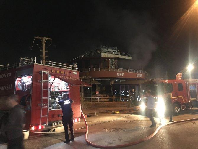 Konya'da lokantada gece vakti bomba gibi patlama!