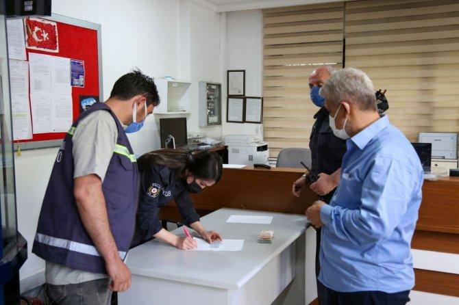 Konya'da temizlik görevlisi davranışıyla takdir topladı