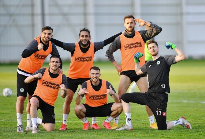 Konyaspor, Göztepe maçının hazırlıklarına başladı