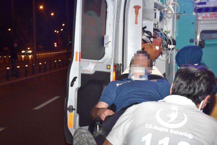 100 kilometre süren film gibi kovalamaca kazayla bitti: 1 polis yaralandı, şüpheli gözaltına alındı