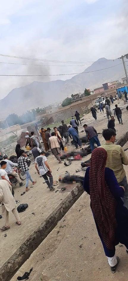Kabil'de okul yakınlarında patlama: 25 ölü, 52 yaralı