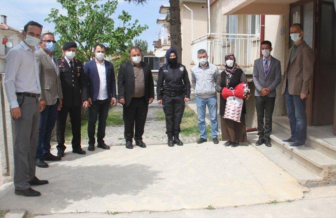 Beyşehir Kaymakamı Özdemir, şehit annelerini ziyaret etti