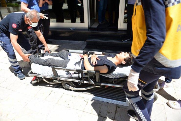 Kısıtlamada tekme- tokat dövüldü