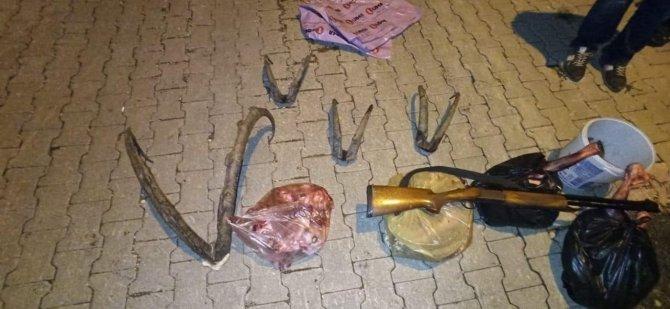 Konya'da yaban keçisi avlayanlara 120 bin lira ceza