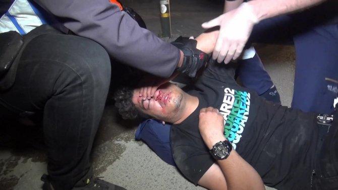 Kontrolü kaybeden sürücü karşı şeride uçup başka otomobile çarptı: 2 ağır yaralı