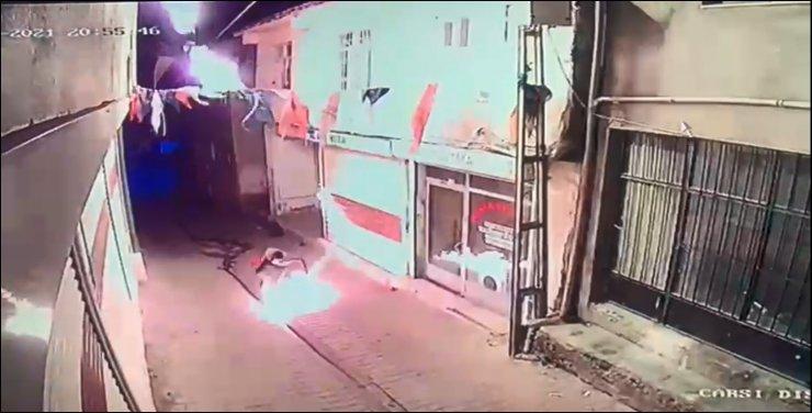 AK Parti binasına molotoflu saldırı