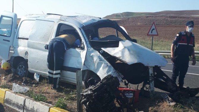 Trafik kazası: 5 yaralı