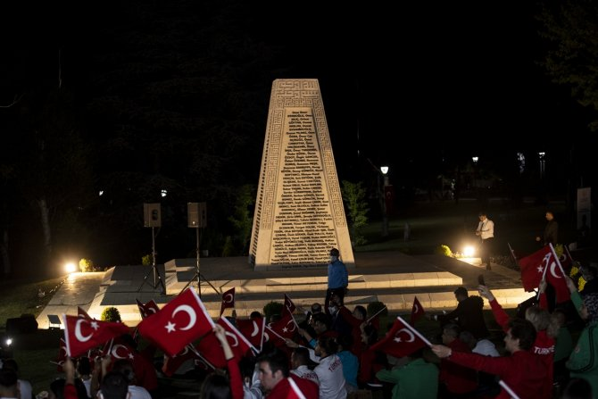"Meclis'te ""15 Temmuz Demokrasi Nöbeti"""