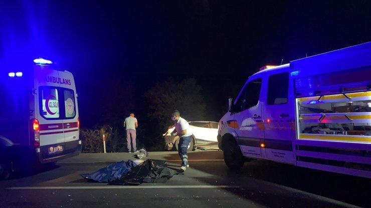 5 aracın karıştığı kazada 2'si çocuk 4 ölü, 2 yaralı