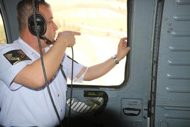 Nevşehir'de,helikopter destekli bayram denetiminde 96 bin TL ceza