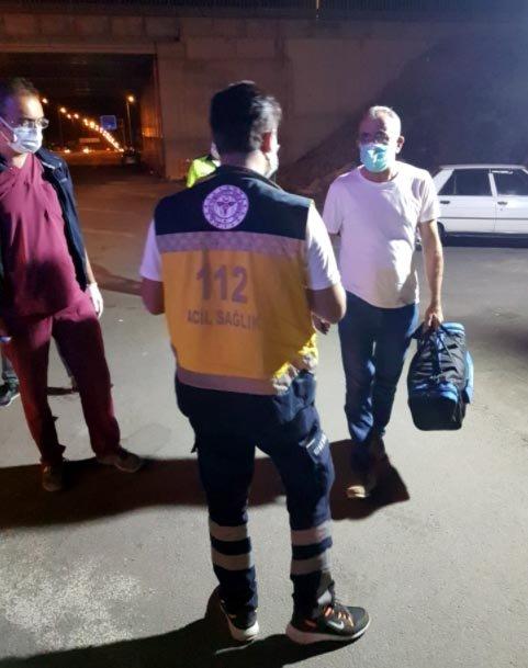 Test sonucu pozitif olan yolcu şehirlerarası otobüste yakalandı