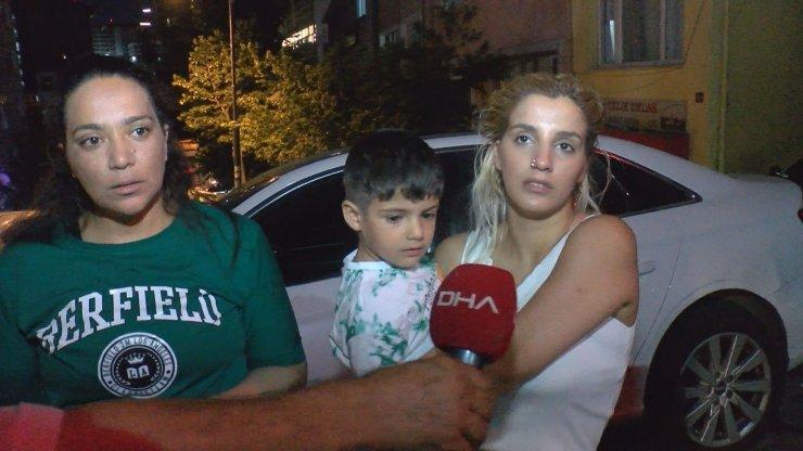 1,5 yaşındaki bebeğine işkence yaptığı iddia edilen babaya meydan dayağı