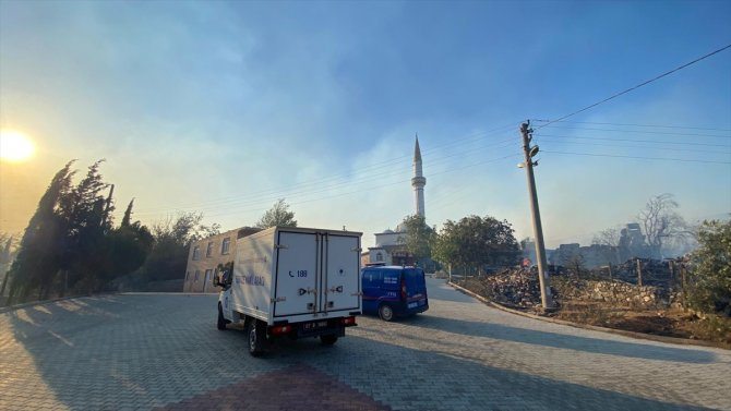 Antalya'nın Akseki ilçesinde orman yangını çıktı