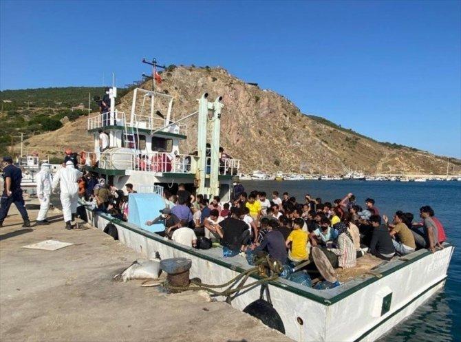 231 düzensiz göçmen ve 2 göçmen kaçakçısı şüphelisi yakalandı