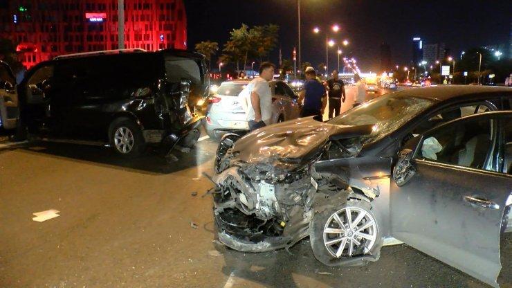 D-100 Karayolu'nda aynı yerde iki ayrı kaza: 2 yaralı