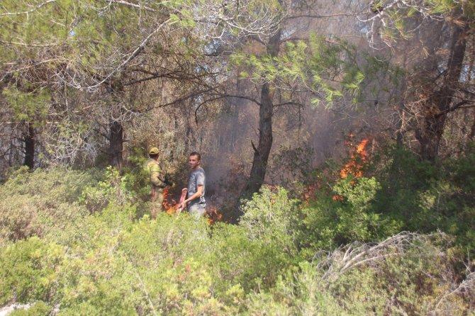 Bodrum'daki yangın bölgesinde risk devam ediyor