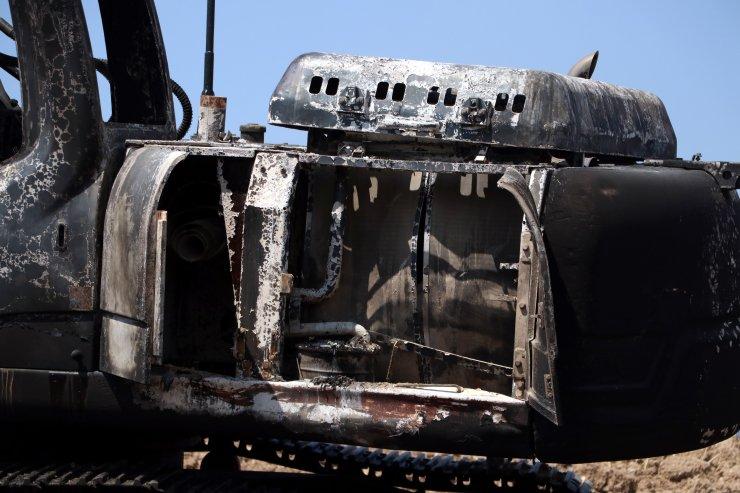 Osmaniye'deki orman yangınının 3'üncü günde hızı kesildi