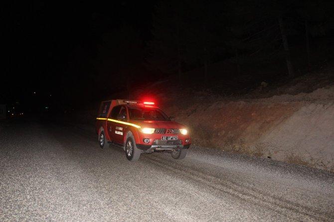 Yangınlara karşı ekipler gece gündüz demeden görev başında