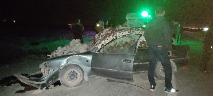 Konya'da traktöre çarpan otomobilin sürücüsü öldü