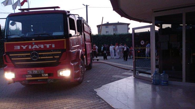 Rehabilitasyon merkezinde yangın çıktı; 200 hasta tahliye edildi