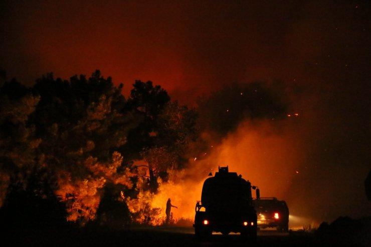 Manavgat'taki büyük yangın 5'inci gününde