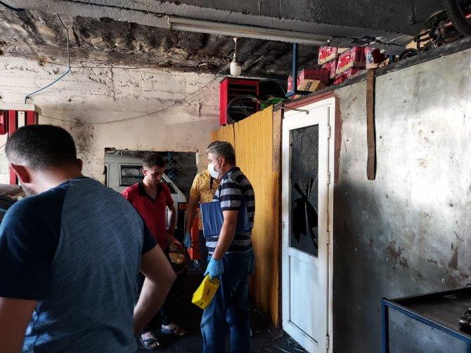 Oto tamircideki kavgada 1 kişi yaralandı