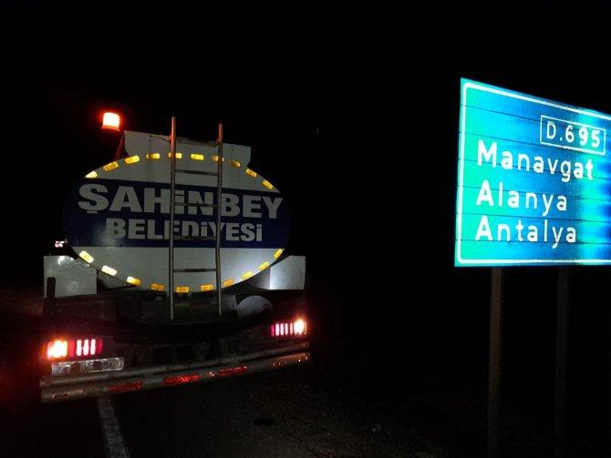 Şahinbey, Osmaniye'den sonra Manavgat'a da destek ekip gönderdi