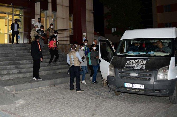 31 düzensiz göçmen yakalandı
