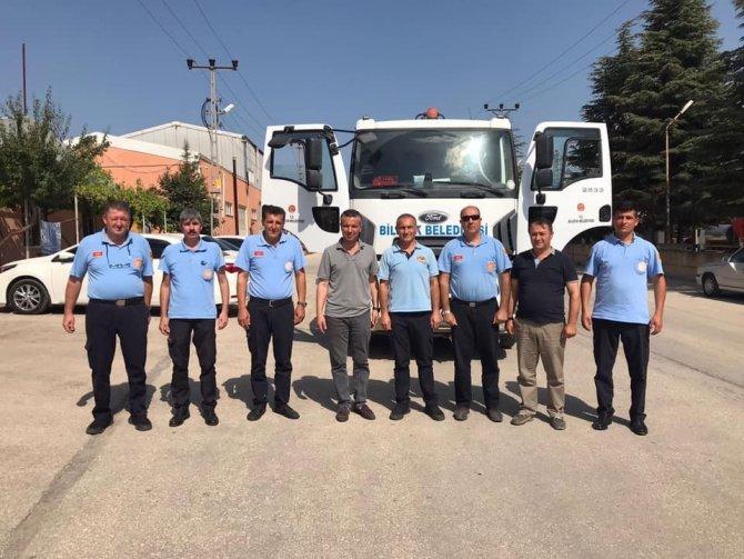 Bilecik Belediyesi'nden Manavgat'a destek