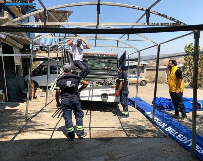 Seyhan'dan yangın mağdurları için dayanışma ağı