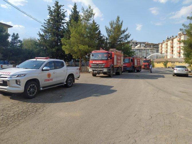 Siirt itfaiyesinden Antalya'daki yangın söndürme çalışmalarına destek