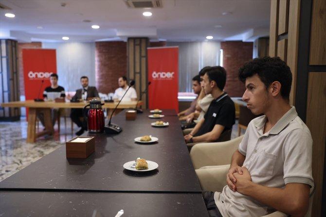 ÖNDER, YKS'de derece yapan öğrencileri misafir etti