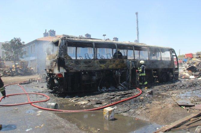 Konya'da yükselen alevlerin sebebi belli oldu!