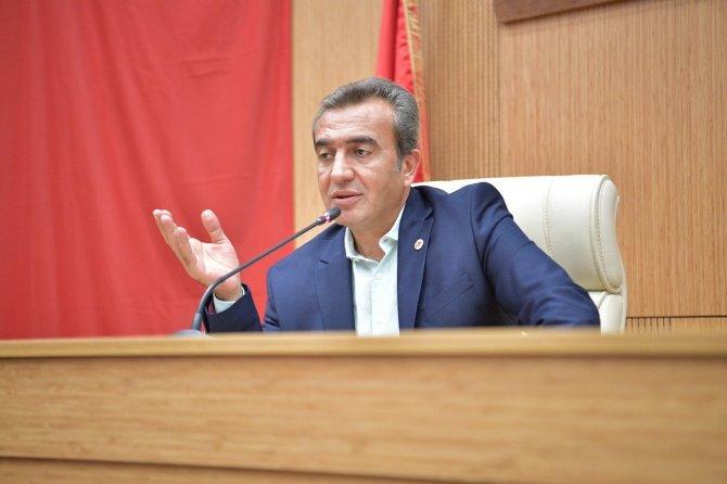 """Başkan Çetin: """"Anız yakmaya ağır cezalar verilmeli"""""""