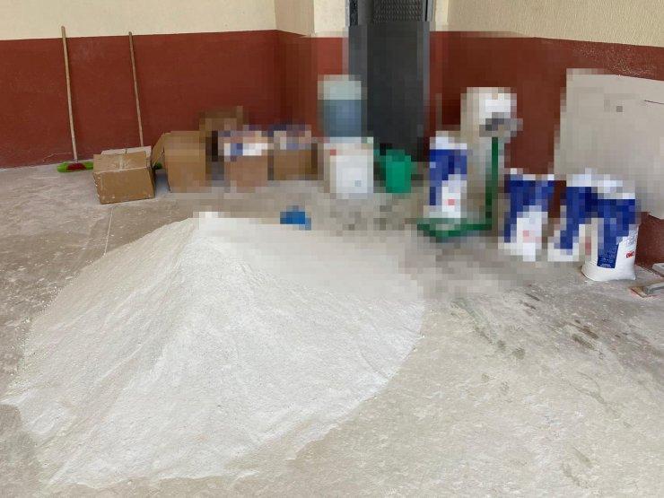 Konya'da 10 ton sahte deterjan ele geçirildi