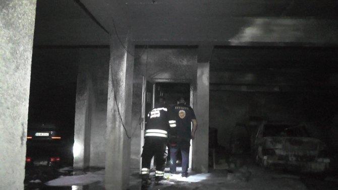 Konya'da yangın sonrası yükselen dumanlar apartman sakinlerine korku yaşattı!