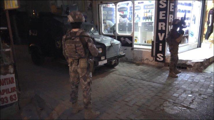 Özel harekat destekli terör operasyonu: 1 gözaltı