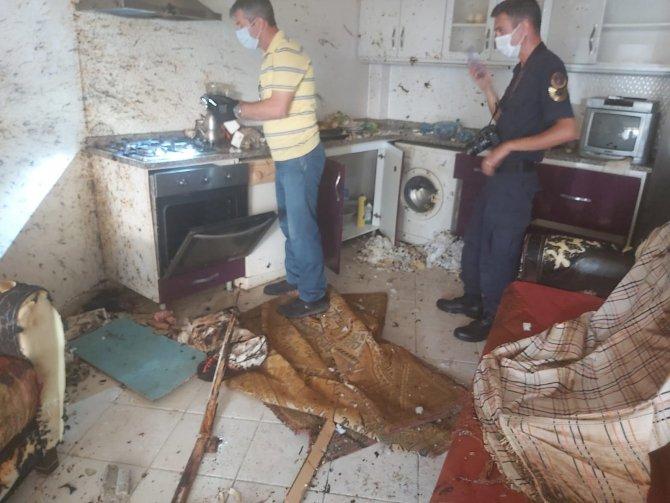Tüpten sızan gaz bomba gibi patladı: 3 yaralı