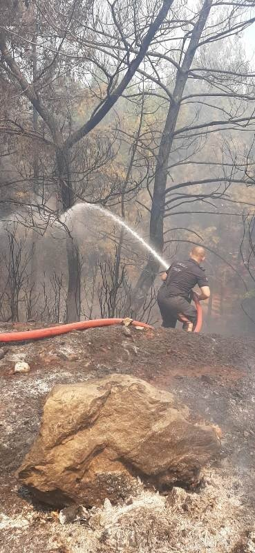 13 günlük zorlu yangın söndürme görevlerini böyle anlattılar