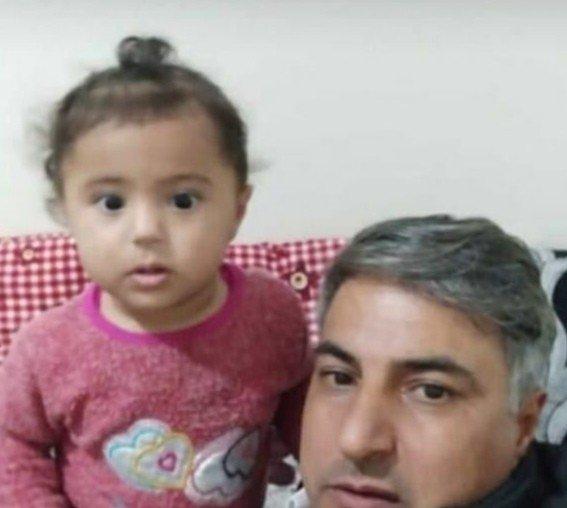 Maganda kurşunu küçük kızı uyurken yakaladı