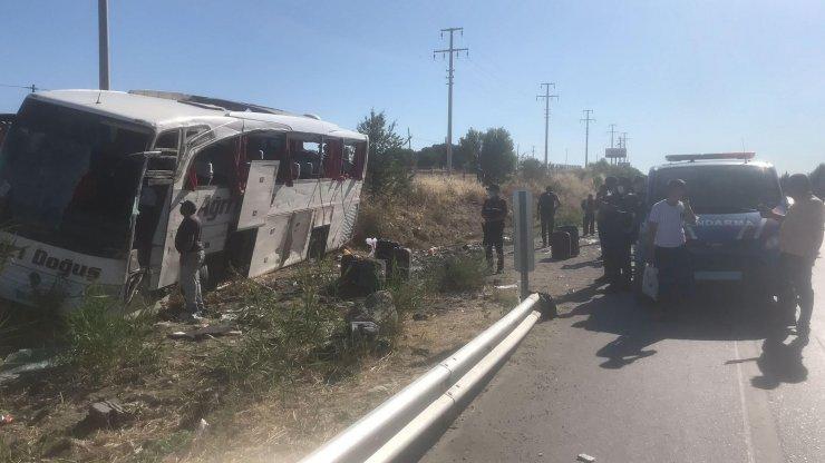 Otobüs kazasında yaralılar taburcu edildi