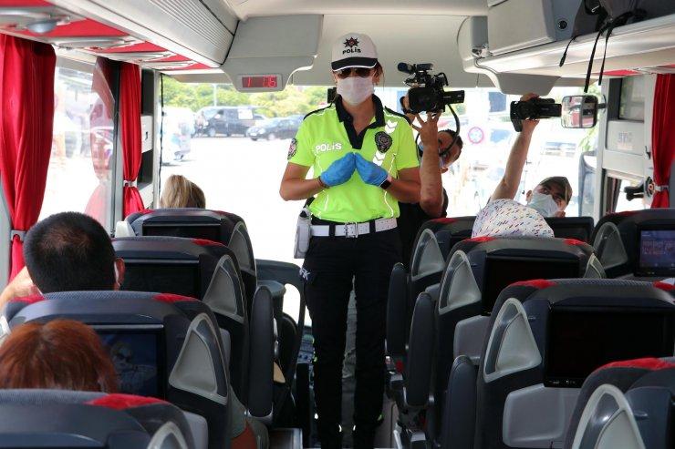 Yolcu otobüslerine denetim