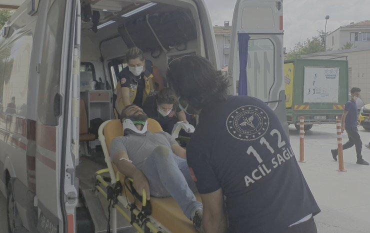 Otomobil takla attı;1 ölü, 1 yaralı