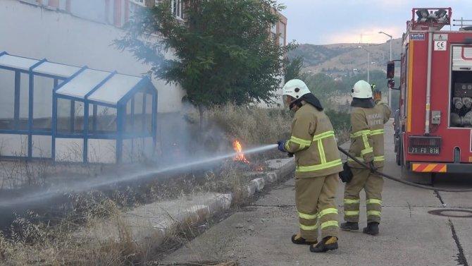 Anız yangını