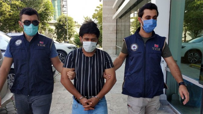 DEAŞ'tan gözaltına alınan yabancı uyruklu şahsa ek gözaltı süresi