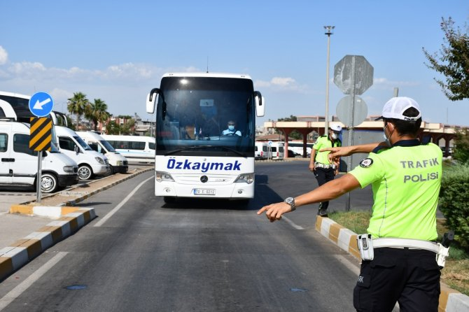 Otobüs sürücülerine takograf denetimi