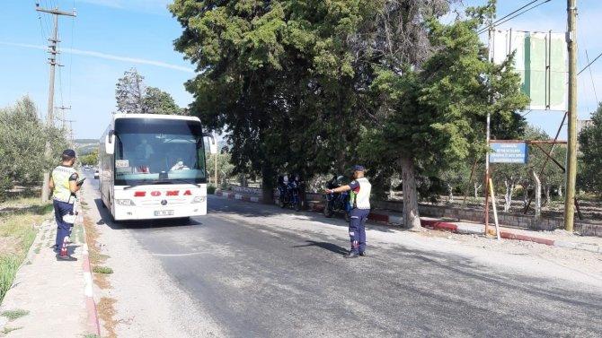 Yapılan otobüs denetimlerinde 39 bin TL ceza kesildi