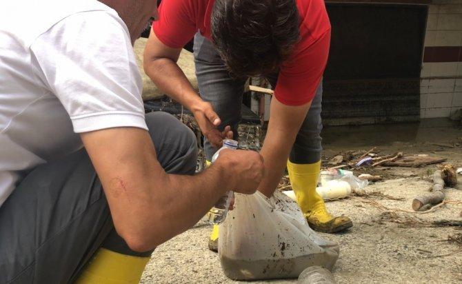 Arama kurtarma ekiplerinden 'balık' hassasiyeti