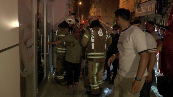 Korkutan yangın: 3 yaralı