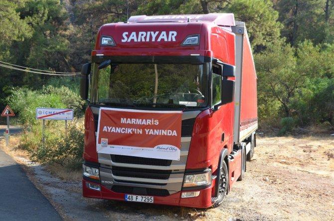 Marmaris'ten Karadeniz'e yardım eli